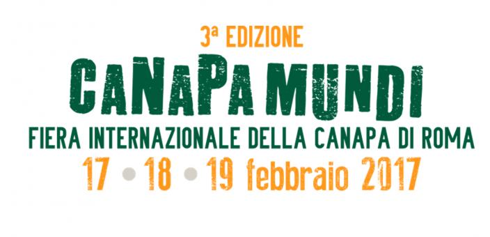 CANAPA MUNDI 2017, Roma 17-18-19 febbraio